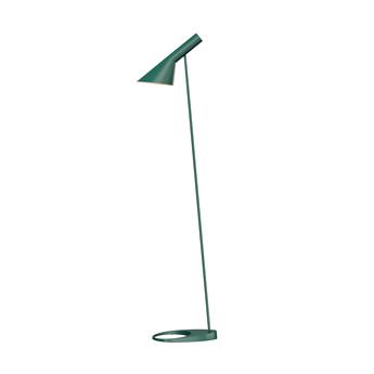 Lampadaire aj vert l27 5cm h130cm louis poulsen normal