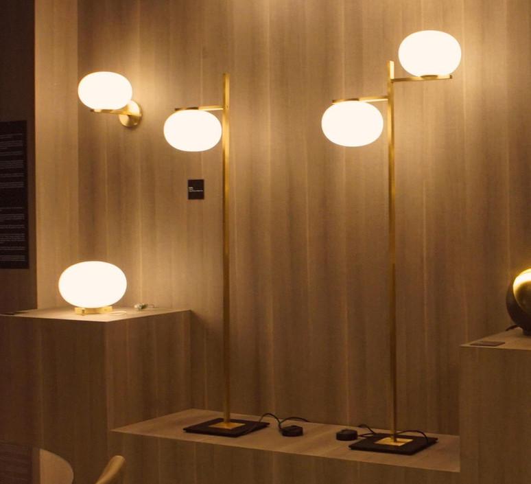 Alba 383 mariana pellegrino lampadaire floor light  oluce alba383  design signed 40548 product