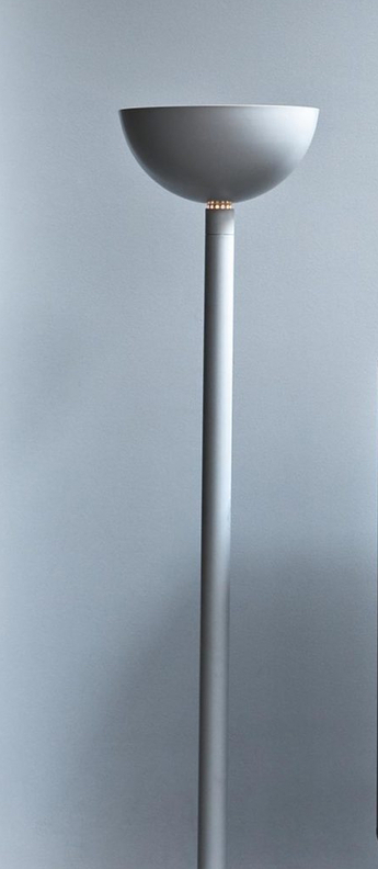 Lampadaire am2z blanc o45cm h180cm nemo lighting normal