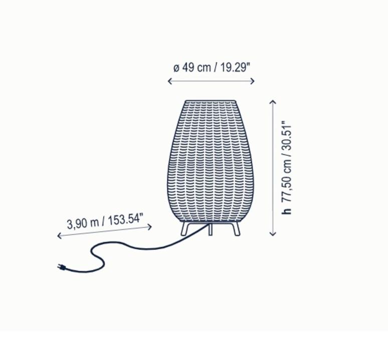 Amphora 1 alex fernandez camps et gonzalo mila lampadaire floor light  bover 0133003p741  design signed nedgis 114066 product