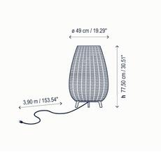 Amphora 1 alex fernandez camps et gonzalo mila lampadaire floor light  bover 0133003p741  design signed nedgis 114066 thumb