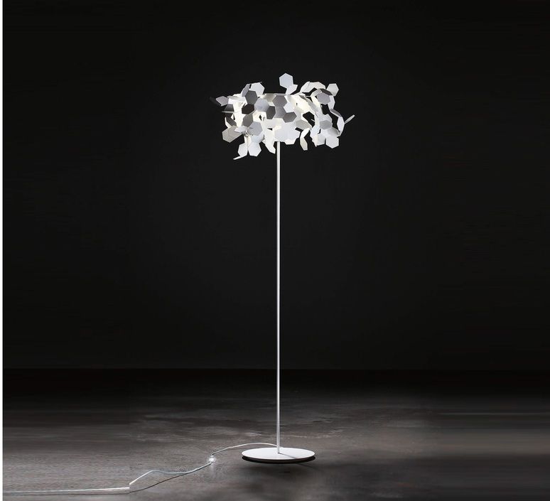 Andromeda paolo ulian zava andromeda lampadaire white 9010 luminaire lighting design signed 17443 product