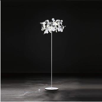 Lampadaire andromeda blanc h185cm zava normal