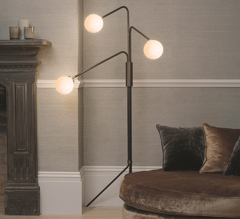 Array opal chris et clare turner lampadaire floor light  cto lighting cto 05 005 0101  design signed 56221 product