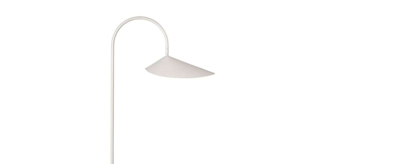 Lampadaire arum floor lamp cashmere l25 6cm h136cm ferm living normal