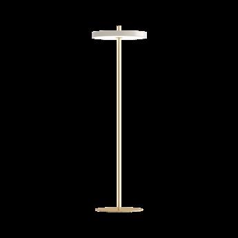 Lampadaire asteria floor laiton led 3000k 1100lm o43cm h150cm umage normal