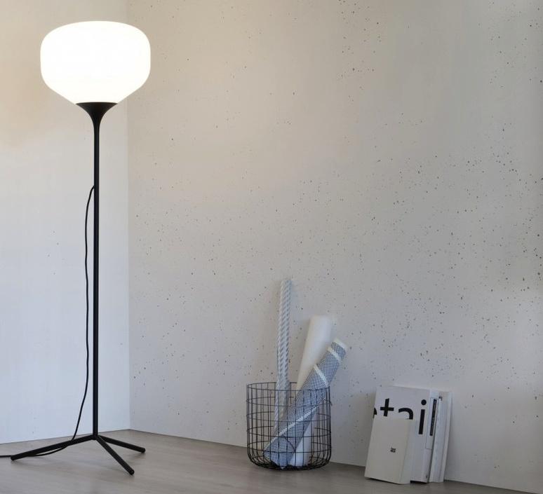 Awa lena billmeier et david baur lampadaire floor light  teo t0017s bk006  design signed 33242 product