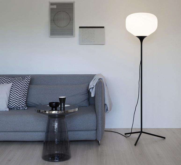 Awa lena billmeier et david baur lampadaire floor light  teo t0017l bk006  design signed 33244 product