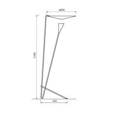 B211 michel buffet lignes de demarcation b211 blanc luminaire lighting design signed 23535 thumb