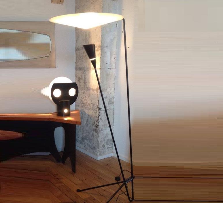 B211 michel buffet lignes de demarcation b211 noir luminaire lighting design signed 23539 product