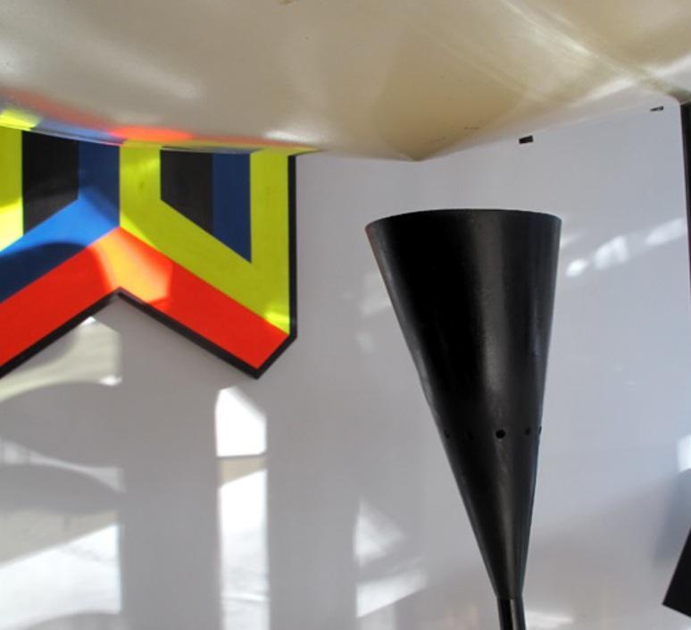 B211 michel buffet lignes de demarcation b211 noir luminaire lighting design signed 23540 product