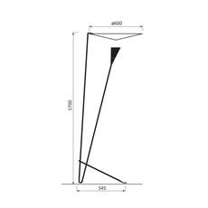 B211 michel buffet lignes de demarcation b211 noir luminaire lighting design signed 23544 thumb