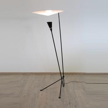 Lampadaire b211 noir h170cm lignes de demarcation normal
