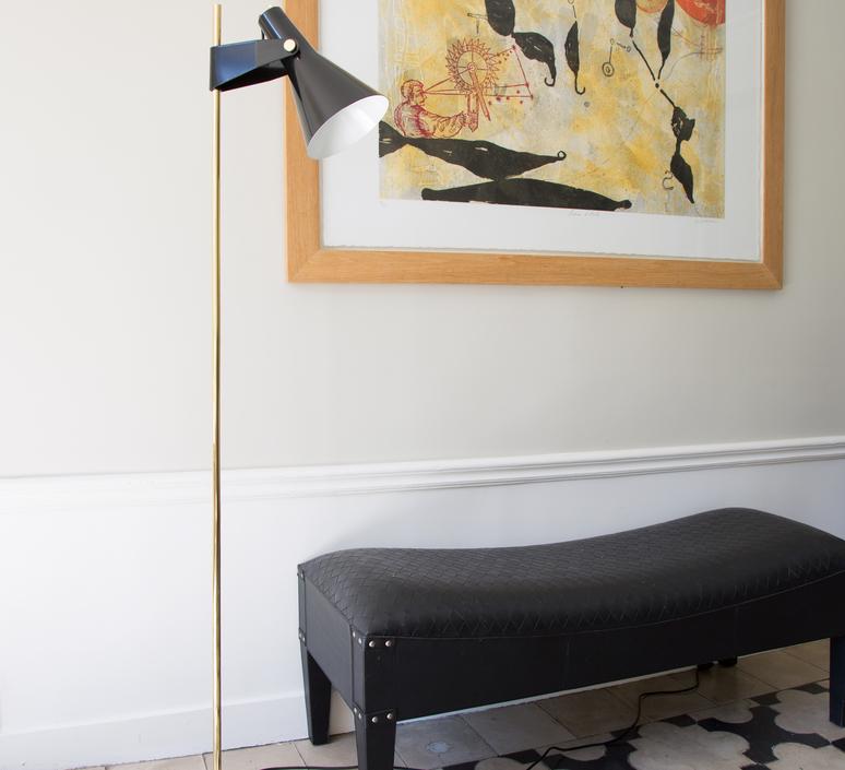 B4 grand modele rene jean caillette lampadaire floor light  disderot b4 n gm  design signed nedgis 83129 product