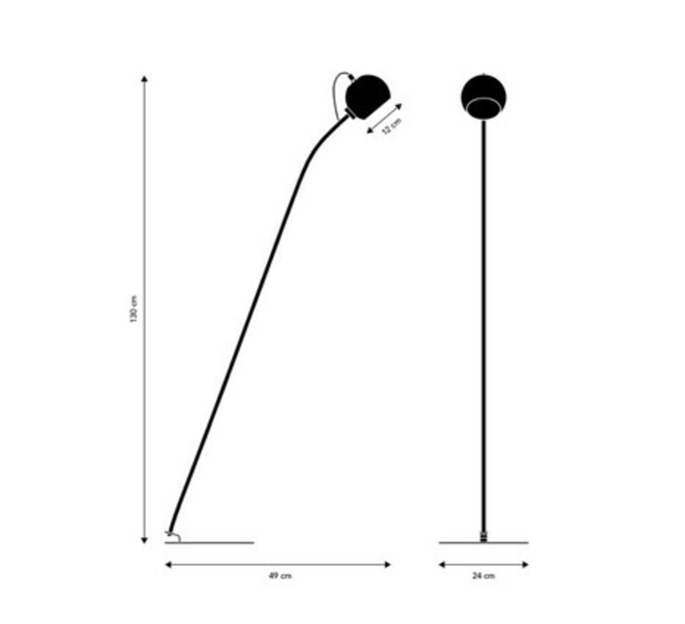 Ball  benny frandsen lampadaire floor light  frandsen 30700060111  design signed nedgis 91758 product