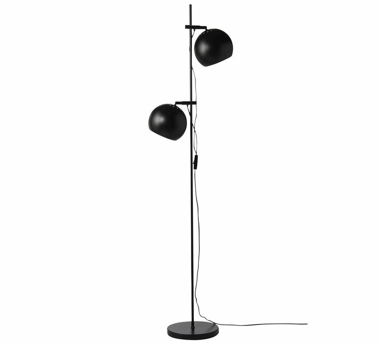 Ball double benny frandsen lampadaire floor light  frandsen floor lamp ball double black  design signed nedgis 91779 product
