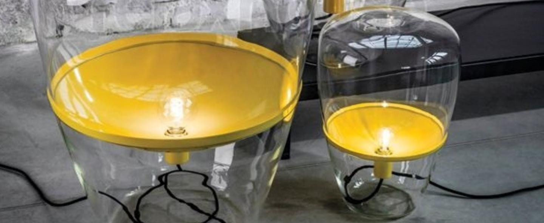 Lampadaire balloons jaune o85cm brokis normal