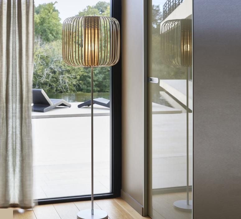 Bamboo light arik levy lampadaire floor light  forestier 20980  design signed 70233 product