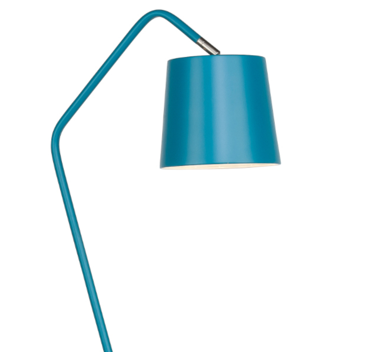 Floor light barcelona blue h152cm it39s about romi for Barcelona 3 light floor lamp