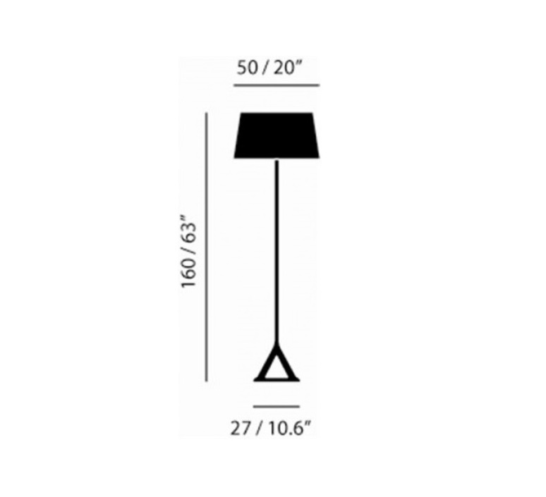Base tom dixon lampadaire floor light  tom dixon bss02 feum1  design signed 48448 product