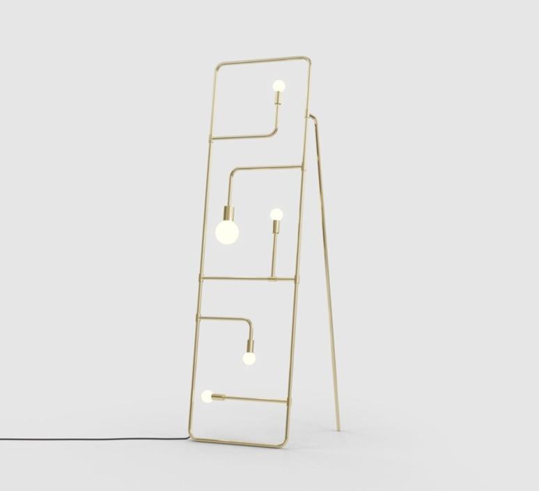 Beaubien 01 studio lambert fils lampadaire floor light  lambert fils bea01flbrbrbk  design signed nedgis 115548 product