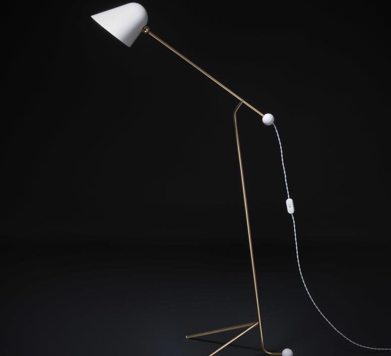 Beghina giulia guido guarnieri lampadaire floor light  tato italia tbe400 0923  design signed nedgis 63145 product