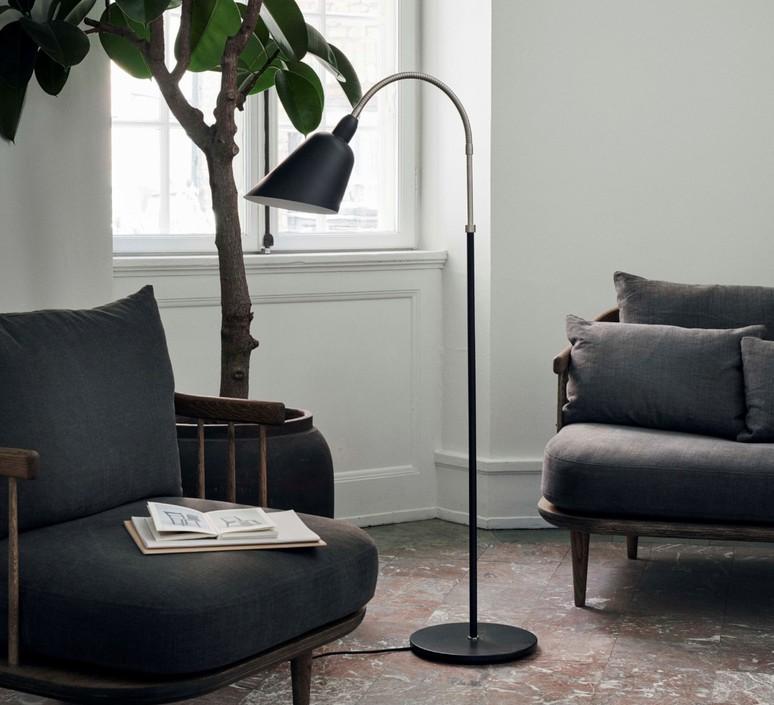 Bellevue aj7 arne jacobsen lampadaire floor light  andtradition 20811694  design signed 83921 product