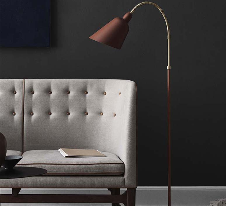 Bellevue arne jacobsen lampadaire floor light  andtradition 20811189  design signed nedgis 75939 product