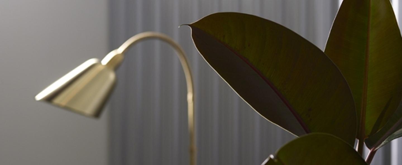 Lampadaire bellevue laiton h130cm andtradition normal
