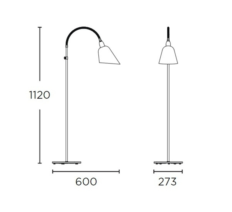 Bellevue arne jacobsen andtradition 20811196 luminaire lighting design signed 28514 product