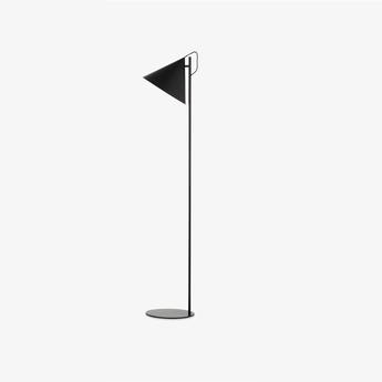 Lampadaire benjamin noir mat o33cm h142cm frandsen normal
