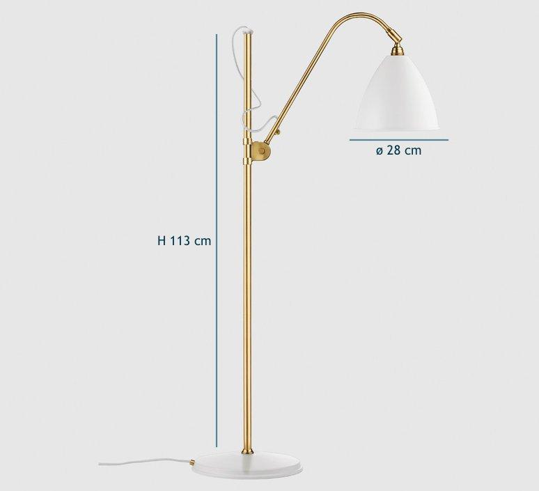 Best lite bl3 medium  lampadaire floor light  gubi 001 03132   design signed 39911 product