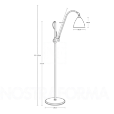 Best lite bl3 medium  lampadaire floor light  gubi 001 03161   design signed 39913 thumb