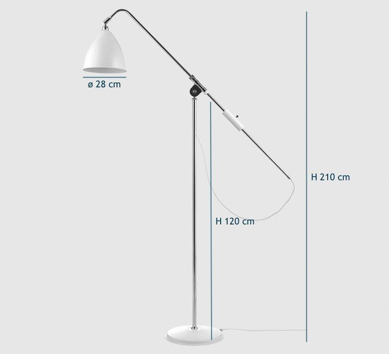 Best lite bl4   lampadaire floor light  gubi 001 04102   design signed 39909 product