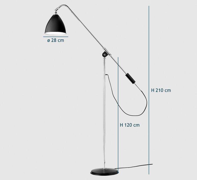 Best lite bl4   lampadaire floor light  gubi 001 04101   design signed 39910 product