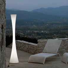 lampadaire biconica pol blanc h195cm martinelli luce. Black Bedroom Furniture Sets. Home Design Ideas