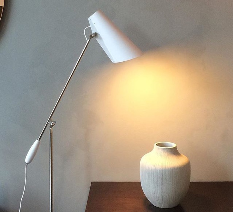 Birdy birger dahl northern lighting birdy floor white metal luminaire lighting design signed 22170 product