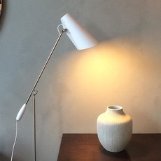 Birdy birger dahl northern lighting birdy floor white metal luminaire lighting design signed 22170 thumb