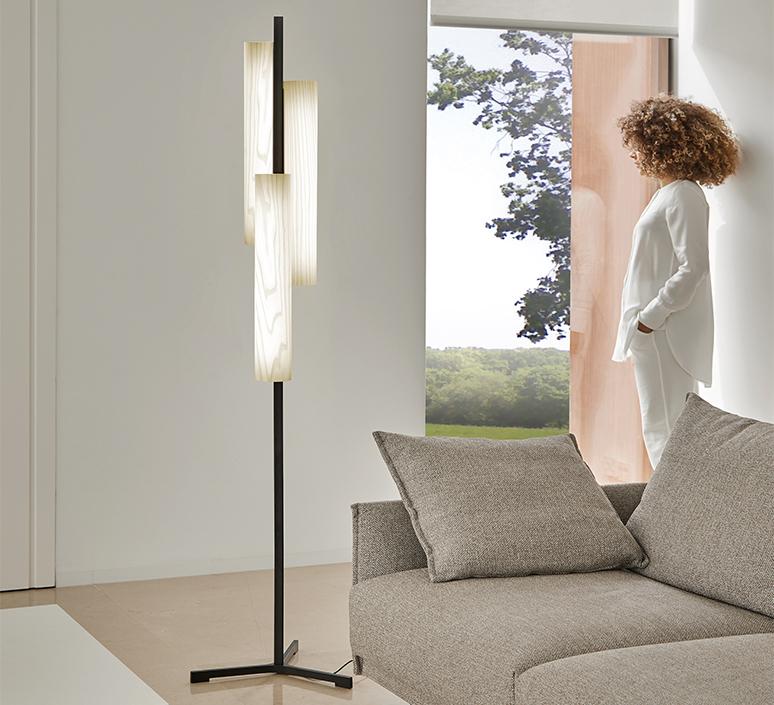 Black note tr ramon esteve studio lampadaire floor light  lzf bknt p tr bk led dim 20  design signed nedgis 77034 product