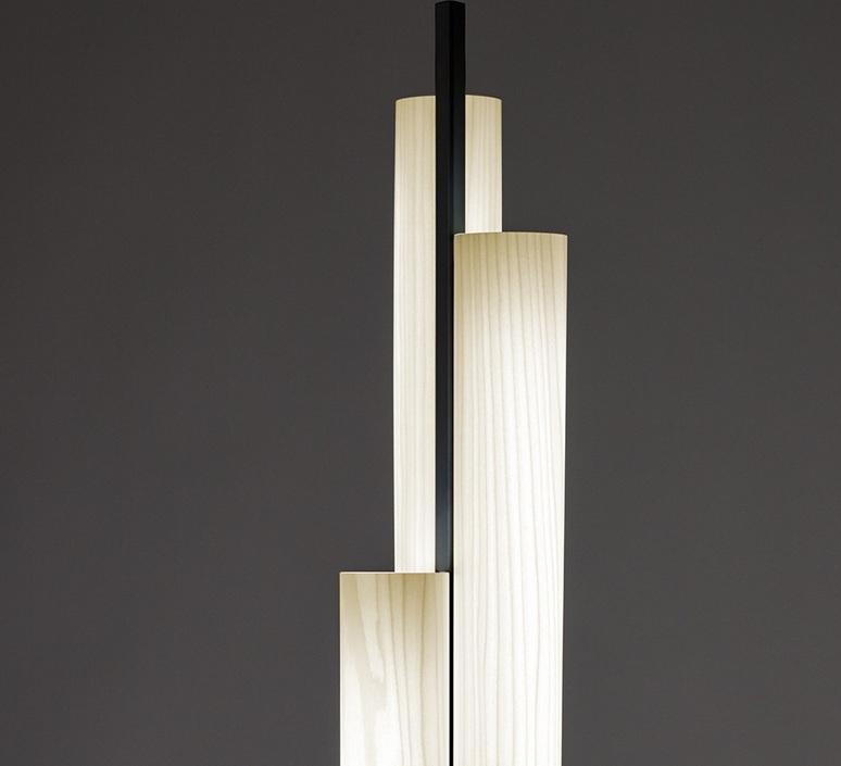 Black note tr ramon esteve studio lampadaire floor light  lzf bknt p tr bk led dim 20  design signed nedgis 77035 product
