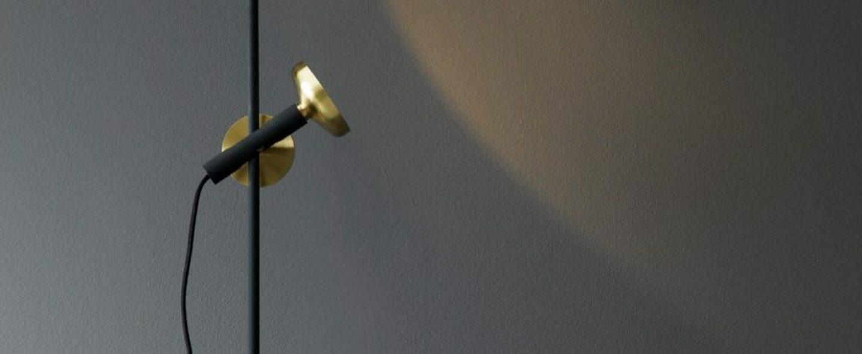 Lampadaire blend laiton noir l150cm h150cm pholc normal