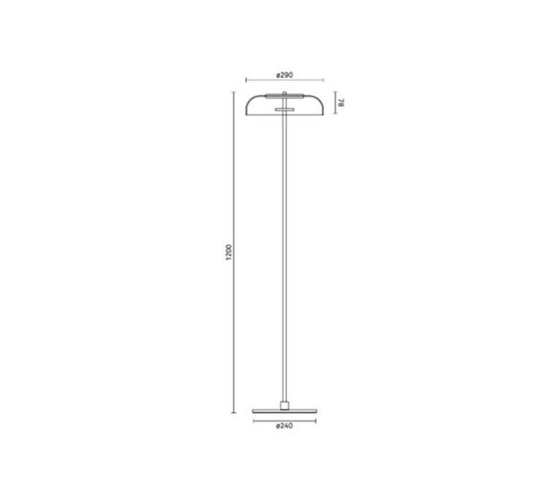 Blossi sofie refer lampadaire floor light  nuura 02590121  design signed nedgis 89783 product