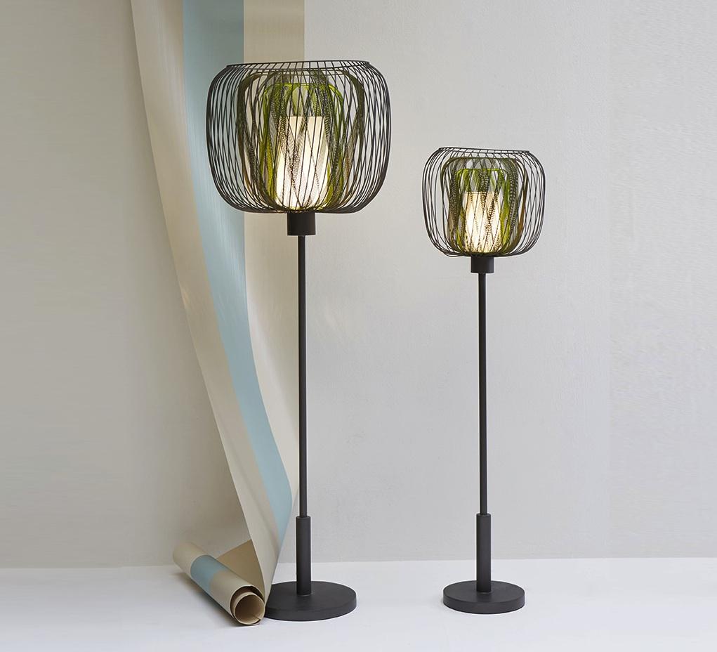 lampadaire bodyless gm vert h140cm forestier luminaires nedgis. Black Bedroom Furniture Sets. Home Design Ideas