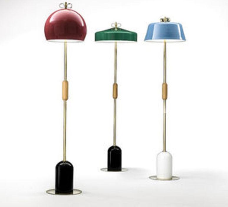 Bon ton cristina celestino lampadaire floor light  torremato n7b3ao  design signed 52362 product