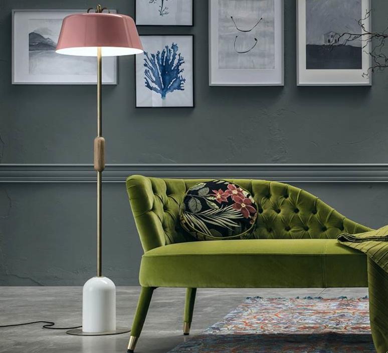 Bon ton cristina celestino lampadaire floor light  torremato n9d3fo  design signed 52369 product