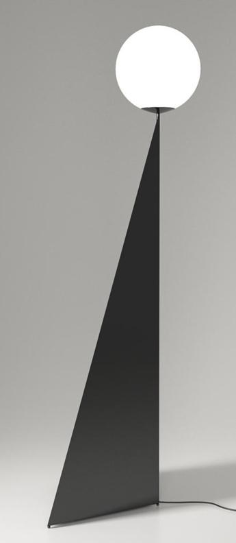 Lampadaire bonhomme noir l56cm h170cm atelier areti normal