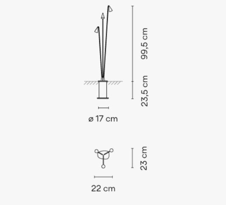 Meridiano 4710 jordi vilardell et meritxell vidal lampadaire floor light  vibia 471007 1  design signed nedgis 81677 product