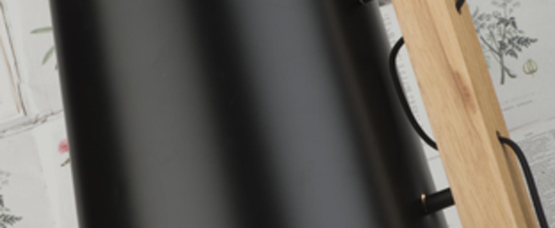 Lampadaire cambridge noir l30cm h168cm it s about romi normal