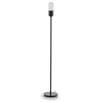 Lampadaire capsule anthracite o20cm h130cm alma light normal