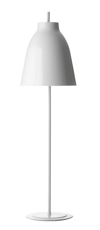 Lampadaire caravaggio floor blanc o40cm h151 5cm lightyears normal